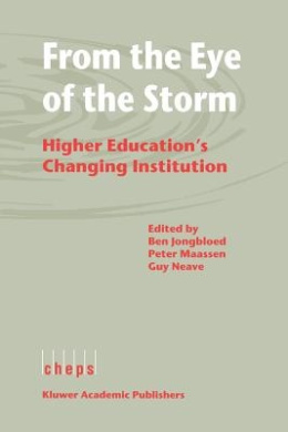 From the Eye of the Storm: Higher Education's Changing Institution