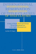 International Reservation of Title Clauses