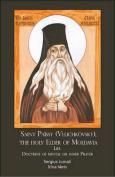 Saint Paissios Velichkovski, the Elder of Moldavia