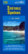 Map of Spetses Island