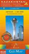 Kazakhstan and Surrounding Countries