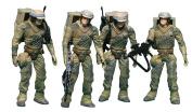 Star Wars Endor Soldier Troop Builder Action Figures