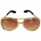 Elope 21313 Elvis Signature Glasses Gold