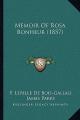 Memoir of Rosa Bonheur (1857)