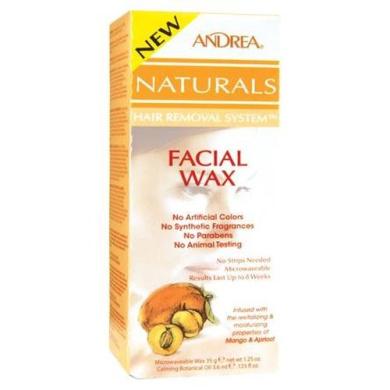 Andrea Naturals Facial Wax Mango Apricot