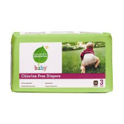 Seventh Generation 35 Ct Chlorine Free Nappiess - Size 3