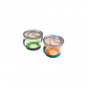 Munchkin Two Snack Catchers, Blue/Purple