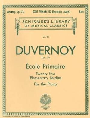 Ecole Primaire (25 Elementary Studies), Op. 176: Piano Solo