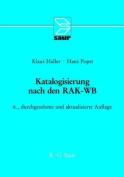 Katalogisierung Nach Den Rak-WB [GER]