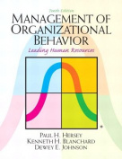 Management of Organizational Behavior