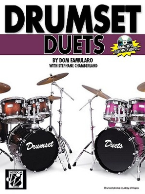 Drumset Duets [With CD (Audio)]
