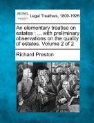 An Elementary Treatise on Estates