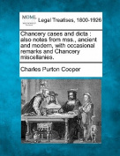 Chancery Cases and Dicta
