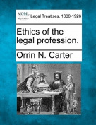 Ethics of the Legal Profession.