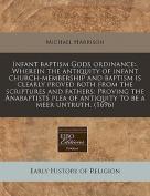 Infant Baptism Gods Ordinance
