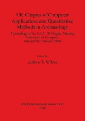 UK Chapter of Computer Applications and Quantitative Methods in Archaeology