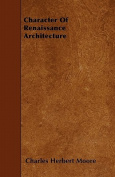 Character of Renaissance Architecture