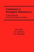 Constants of Inorganic Substances