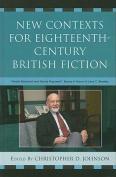 New Contexts for Eighteenth-Century British Fiction