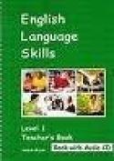 English Language Skills - Level One Teacher's Book and Audio CD