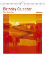 Birthday Calendar Ton Schulten 22 x 26.5 Perpetual Calendar 2018