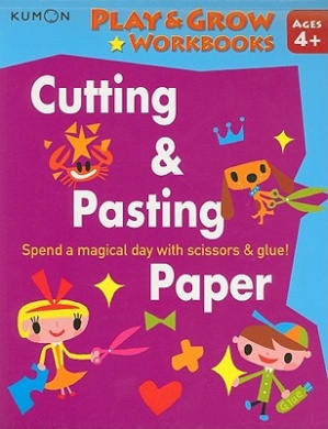 Cutting & Pasting Paper (Play & Grow Workbooks)