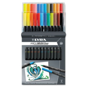 Lyra 6521240 Dual Tip Marker Assorted 24 per Pack