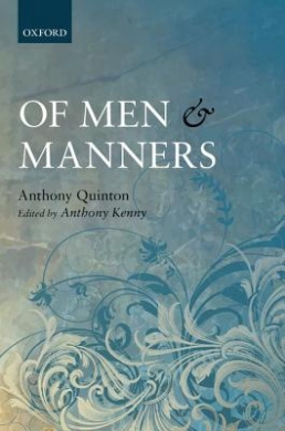Of Men and Manners: Essays Historical and Philosophical