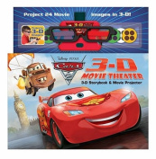 Disney Pixar Cars 2 3-D Movie Theater [With Movie Projector and 3-D Glasses]