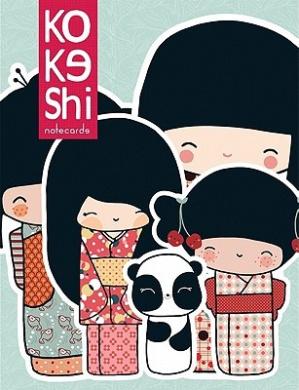 Kokeshi Notecards