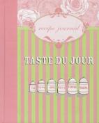 Taste du Jour Recipe Journal