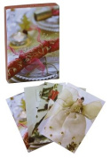 Christmas Decorations Stockings Classic Notecards