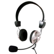 LASER AO-HEADD Headset Stereo VOIP with Mic &Volume Control