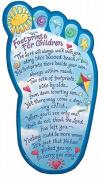 Footprints for Children Plaque
