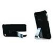 ILUV ICC79BLK Black Hard Case With Built-In Stand For iPhone 3G