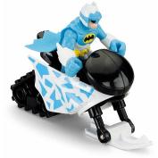 Fisher-Price Imaginext DC Superfriends Arctic Batman Action Figure with Snowmobile