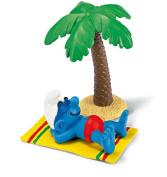 Schleich Super Smurf Figurine - Smurf on Holiday