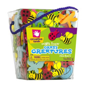 Foam Stickers, Creatures, 180ml Bucket (FCM17322) Category