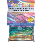 Craft Lace 25 Feet Package - Tie Dye