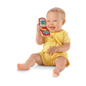 Fisher-Price Brilliant Basics Friendly Flip Interactive Toy Phone