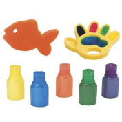 ALEX Toys Rub a Dub Paint in the Tub Finger Painting Kit