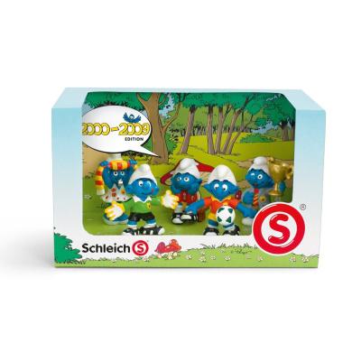 Schleich Limited Edition Smurf Decade Pack - 2000-2009