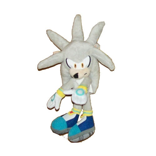 silver sonic plush toys buy online from fishpond com au