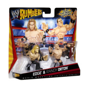 WWE Rumblers Action Figures 2-Pack - Edge and Randy Orton