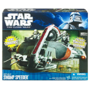 Star Wars The Clone Wars Starfighter Vehicle - Republic Swamp Speeder