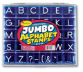 Jumbo Uppercase Alphabet & Punctuation Stamps