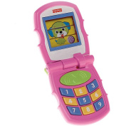 Fisher-Price Friendly Pink Flip Phone