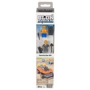 Mega Bloks Tub Figures Blok Squad - Construction ATV