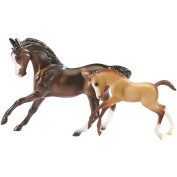 Breyer Stablemates 5924 Horse & Foal Set - Sport Horse and Foal