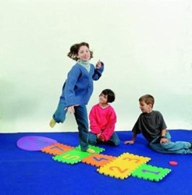 EduShape 905080 Smiley Hopscotch Baby Active Play